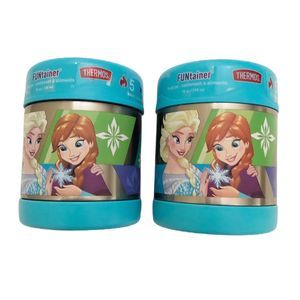 Thermos Funtainer Disney Frozen 2 Piece Set New